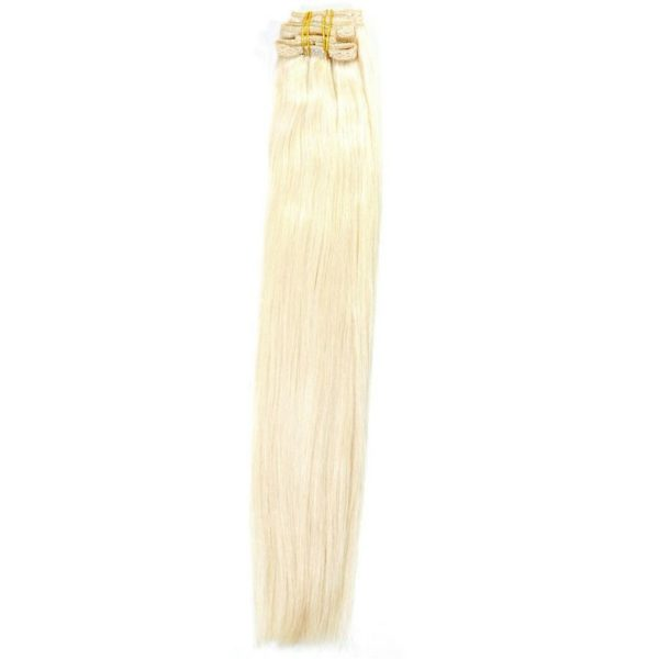 Platinum Blonde Clip-In Extensions